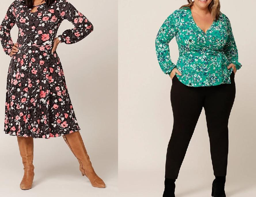 Cách mặc đồ đẹp cho nữ béo - Chọn họa tiết và màu sắc phù hợp với dáng cơ thể