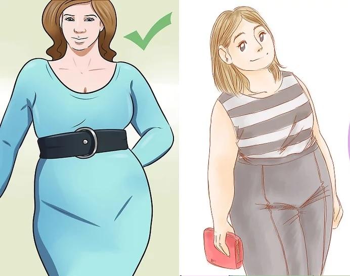 Cách mặc đồ đẹp cho nữ béo - Chọn ưu điểm để tạo sự tập trung